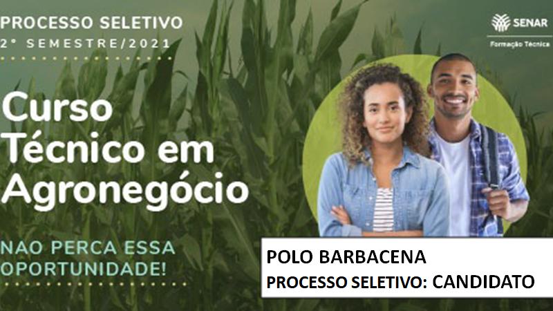 Course Image Processo Seletivo Tec em Agronegócio Senar 2021