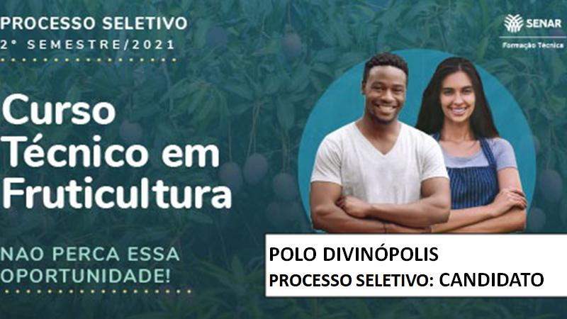 Course Image Processo Seletivo Tec em Fruticultura Senar 2021