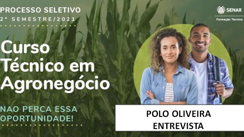 Course Image Entrevista - Processo Seletivo Tec em Agronegócio Senar 2021 /2