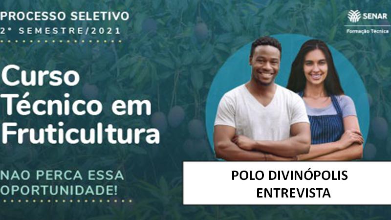 Course Image Entrevista - Processo Seletivo Tec em Fruticultura Senar 2021 /2